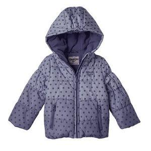 Oshkosh Blue Ombre Hooded Jacket Coat